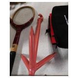 Boat anchor tennis racket