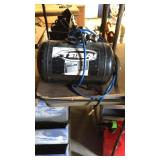 Air tank with hose