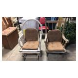 Pair of project rocking chairs