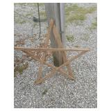 Tobacco stick star around two ft in size