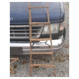 Tobacco stick quilt ladder great for decoration