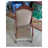 Victorian fold-up chair