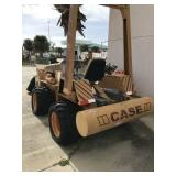 CASE TRENCHER MOD DH4, 501 HRS SHOWING