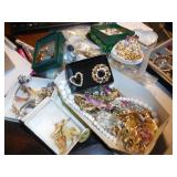BOX-MISC COSTUME JEWELRY