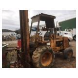 Case 586C rough terrain forklift