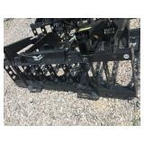 "UNUSED 72"" DOUBLE CYLINDER BRUSH GRAPPLE"