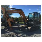 Case 57C excavator ex demo