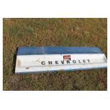 Chevrolet endgate and trim piece