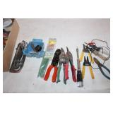 Wire Cutters, Tin Cutters, Testers and Electrical