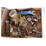 Pliers, Screw Drivers, Tape Measure, Plier Holder