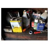 Paint Thinner, Stain, Sand Paper