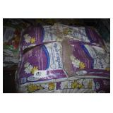 large lot of 40 lb. bags of organic compost