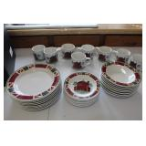 Red Barn 8 pc. Place Setting