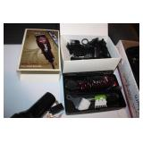 Wahl Balding Clippers w/ Attachments & Shoe Polish