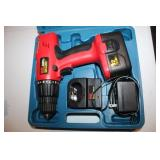 MIT Cordless Drill/Driver w/Battery and Charger