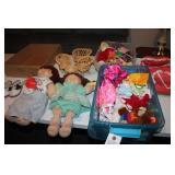 Cabbage Patch Dolls, clothes, Barbie dolls &