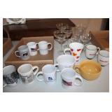 Coffee Mugs and Wine Glasses