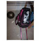 Bowling Balls (2), Dexter Shoes Sizes 8-1/2, &