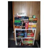 Board Games w/Shelf
