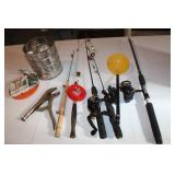 Ice Fishing Poles and Lures