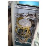 Electrical Wires w/Old Refrigerator