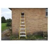 Yellow Keller Step Ladder