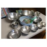 Mixing Bowls and Strainers
