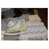 Assorted Rugs and linens