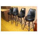 Set of 4 stools
