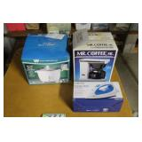 Rice cooker, iron and coffee maker