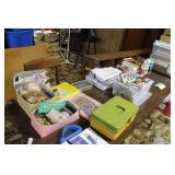 Lot of embroidery and craftiing supplies