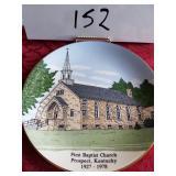 First Baptist Church plate