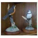 Hand Painted Birds