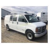 2002 GMC Savana G2500 van - IST
