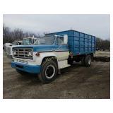 1976 GMC Grain Truck - VUT
