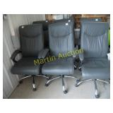 grey office chairs (6)