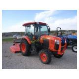 Kubota L4060 tractor & mower *