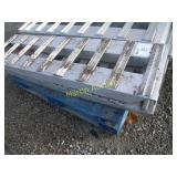 set of aluminum loading ramps