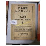 Case manual instructions for operation and care
