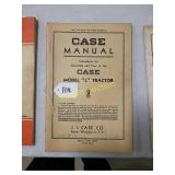 Case manual for model L tractor