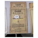Case manual for RC tractor in RCA 2 row