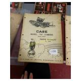 Case Model 75 combine parts catalog number 5 5 9
