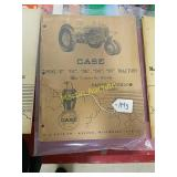 Case Model D, DC, DH, DO, DV tractors parts