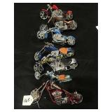 7-West Coast Choppers 1:18th scale toy