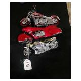 Arlen Ness toy motorcycles by Toy Zone.  1/18th