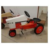 Case peddle tractor