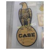 Case Eagle on world emblem