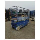 Upright X20 blue scissor  lift +