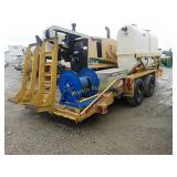 2011 Belshe boring machine trailer - VUT