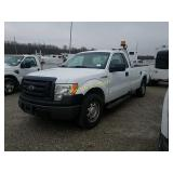 2010 Ford F150 Pickup Truck - VUT, HAULED IN
